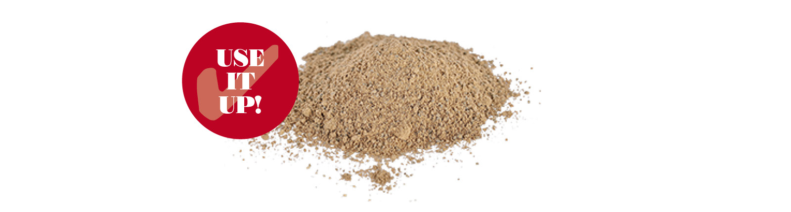 image shows ground nutmeg